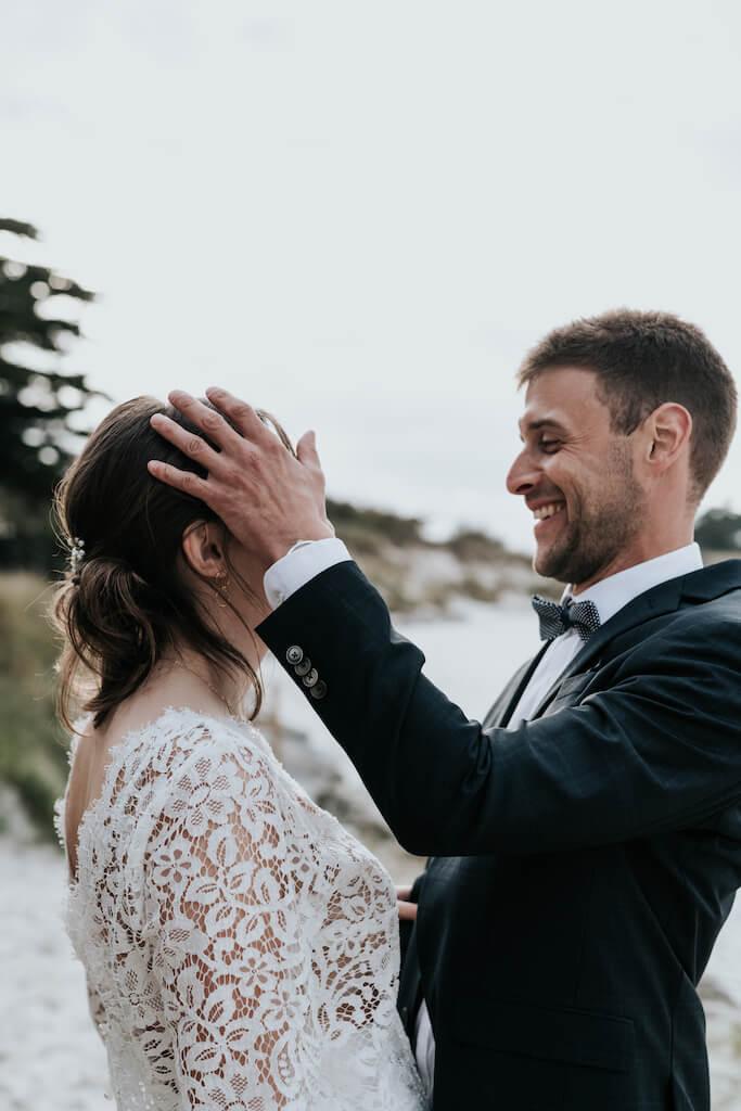 Couple mariés Bretagne